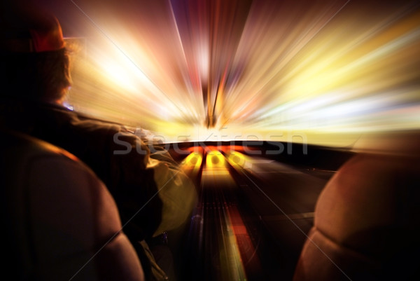 Foto stock: Abstract speed concept